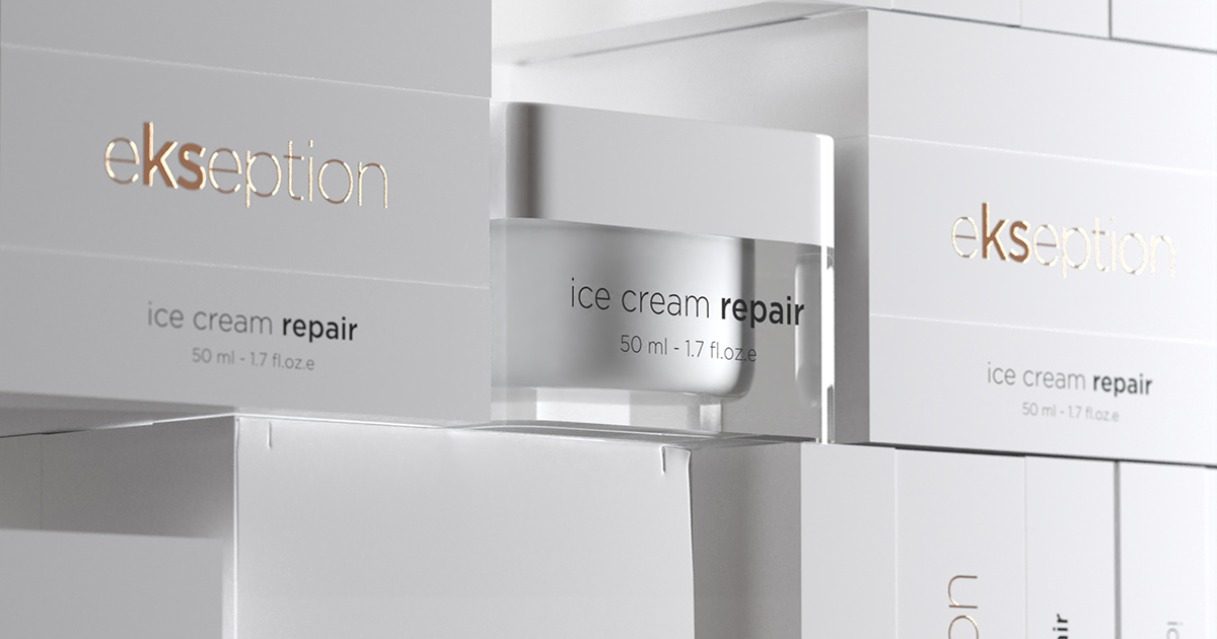 Icecream repair creamEkseption skincare
